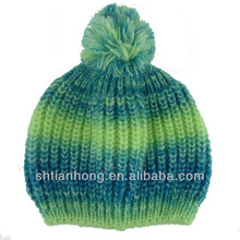 winter fashion knitted ladies cashmere hat