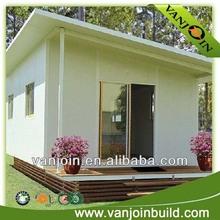 Low cost solar flat roof modern EPS panel prefab modular house