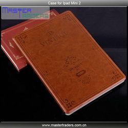 Original MOFI Smart Wake/Sleep Retro Folio Leather Case for Apple Ipad Mini 2 MT-1617