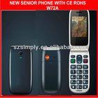 low price cheap flip mobile phone dual sim W72A