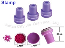 New fashion toy rubber/plastic stamp