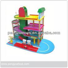 playset toys wooden car park toys wholesale