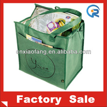 2014 wholesale insulated cooler bag/non woven cooler tote bag