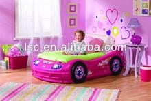 2014 plastic children car bed