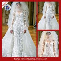 TED0063 Elegant alibaba elie saab wedding dresses prices for sale