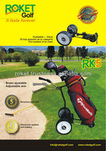 SPAIN DESIGNED AND MANUFACTURED HIGH QUALITY ELECTRIC GOLF TROLLEY WITH MOTOR RK9
