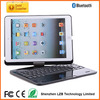 for ipad air case Rotating 360 degree bluetooth keyboards for ipad air/5