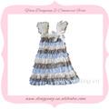 continuado 2014 venta de bebé niña vestidos princesa