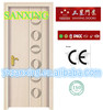 SANXING FACTORY SALE stainless steel sliding wooden door(SX-64)