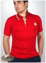 100% cotton high quality polo shirt design