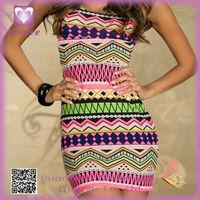 Wholesale Elegant Stripe Color Sexy Naughty Clubwear