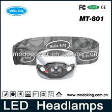 Long working lifetime led light guide head lamp