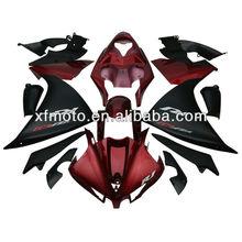 Red Black Bodywork ABS Plastic Fairing Set Wholesale For Yamaha YZFR1 YZF-R1 YZF R1 2013