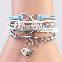 MYLOVE lucky bird bracelet brand new 5 colors MLBZ013