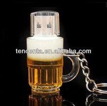 New Cartoon Beer Bottle usb 2.0 memory flash stick pen drive/4GB 8GB 16GB 32GB