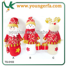 Wholesale High Quality Indoor Decoration Christmas Standing Doll