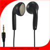 black plastic logo headphones for nokia x6