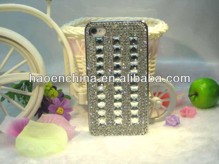الماس الكريستال الحال بالنسبة فون 4s، الماس حقيبة جلد لآيفون 5c، لآيفون حالة الماس نمط 5