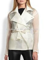 Alaura Silk Rain Jacket for lady