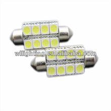 41mm 5050 8 SMD Festoon Led Light Car LED Light Doom Light Xenon White