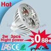 LED Spotlight 3W GU10 high power/cob globos led lighting lamp