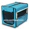 Accordion Pet Kennel/House Carrier Soft Crate Cage