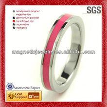 En acier inoxydable de naissance anneau pendentif