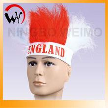 England fan's wigs