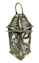 wooden Indoor - outdoor / Garden / Decorative candle Lantern
