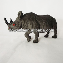 PVC buffalo action figure toy for promotion gifts 3D craft figure toys