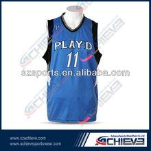 custom basketball jersey sports accessory for team design