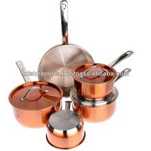 Encapsulated Pro Chef Cookware Set - 10 Pcs Set