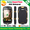 Cheapest 4'' Waterproof Phones, IP68 Rugged Phones with Android 4.0 GPS 3G Rugged Smart Phones