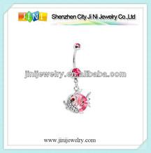 animal navel piercing jewelry