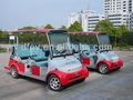 coche eléctrico 6 plazas dongfeng mini bus