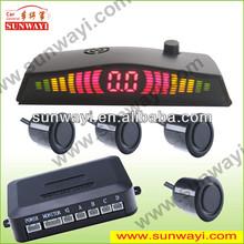 LED Parking Sensor System Car Reverse Backup Radar Auto ,2,4,6,8 Sensors