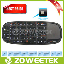 Mini USB Keyboard Tablet With Touchpad For Google TV