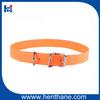 waterproof fluo dog collar pvc