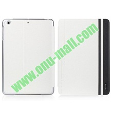 USAMS Jazz Series Cross Texture Color Max Smart Cover for iPad Mini Retina with Stand