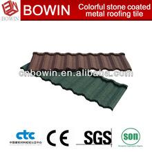 Aluminum/Zinc coating steel tile stone chips coated roofing tile