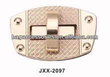 handbag lock closure