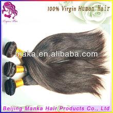 Good Quality Brazilian Virgin Human Hair extension 100g/pc Silk Straight factory Price