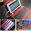 2014 promotion best qualiy 7,8,9,10 inch tablet case keyboard