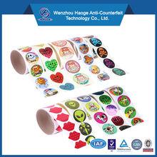 FSC certificate Kids funny&decorate cartoon characters sticker,cute cartoon sticker