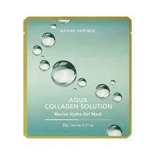 [KOREA COSMETIC] NATURE REPUBLIC Aqua Collagen Solution Marine Hydro Gel Mask