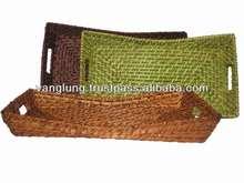 New design rattan fruit tray/ wicker tray/ bamboo tray in Vietnam