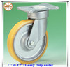 super heavy duty iron-core polyurethane caster wheels