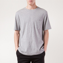 classic tri blend t shirt with patch pocket