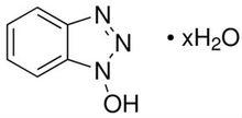 1-Hydroxybenzotriazole hydrate; HOBT x H2O; CAS:123333-53-9