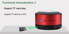 N8 My vision mini speaker best gift/bt speaker